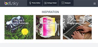 home page befunky.com