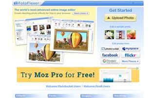 home page fotoflexer.com