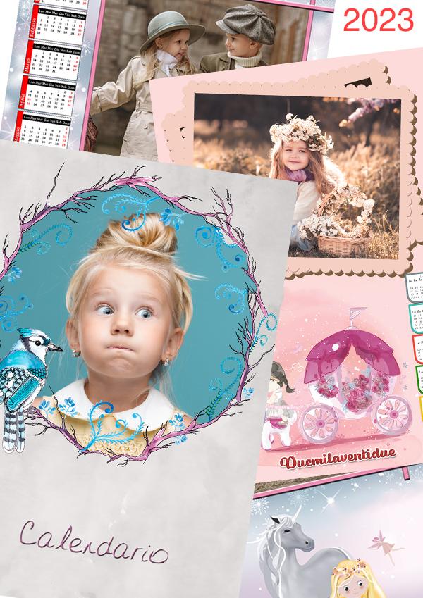 Calendario Fotografico Personalizzato.Calendari Con Foto Stampa Calendari Personalizzati