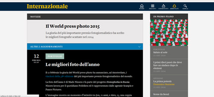 internazionale presenta il world press photo